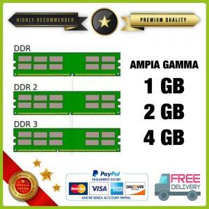 Memoria RAM DDR DDR2 DDR3 PC / DESKTOP / SERVER / MAC / PC2 1Gb 2Gb 4Gb 8Gb 16Gb
