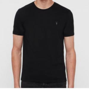 Men's All Saints Tshirt Tunic Crew Neck Casual Fashion Tee XS - 2XL Black