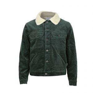 Men's Outdoor Wear Casual Trucker Jacket Lapel Button Jacket Coats