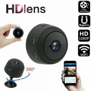 Mini Wireless Wifi Hidden Spy Camera Home Security HD 1080P DVR Night Vision NEW
