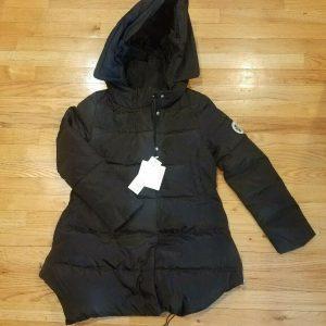 Missfofo ELSN Women's Fashion Snow Ski Coat Black * Small S * NEW NWT