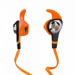 Monster iSport Strive In Ear Earphones Headphones with Controls - Orange