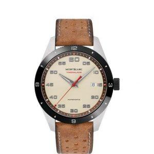 Montblanc Timewalker Automatic Cream Dial Men's Watch 118494