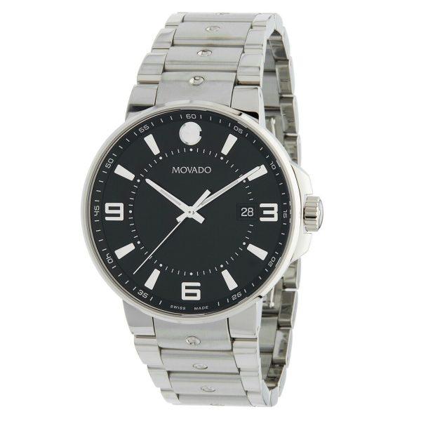 Movado 0606761 Men's SE. Pilot Black Quartz Watch