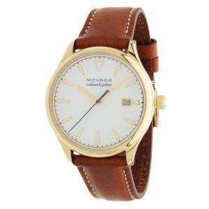 Movado 3650033 Women's Heritage White Quartz Watch