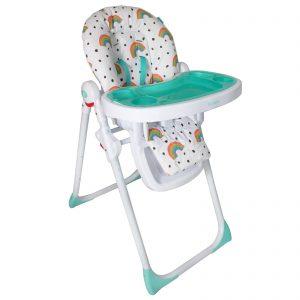 My Babiie Your Baby Premium Highchair Rainbow
