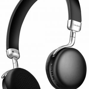 NEO: Metallic Bluetooth Headphones  Black