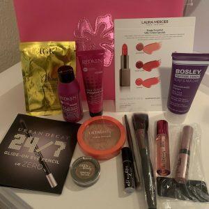 NEW 14 Pc Ulta Makeup Bag-Makeup+Skin+Hair Products Lot! Redken/Urban Decay/IGK