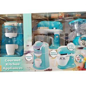 🎄 NEW 2020 !! GOURMET KITCHEN APPLIANCES SET COLOR: Turquoise  PLAYGO 3-PC 🎄