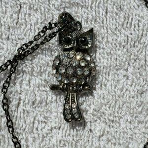 NEW! OWL NECKLACE JEWELRY SET!!