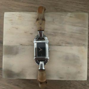 Original Gucci Bamboo Bangle Watch- Genuine, Great Condition