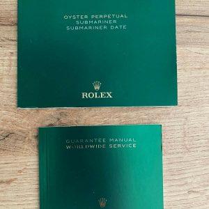 Original Rolex Booklet For Submariner / Sub Date 2018 New Last Gen