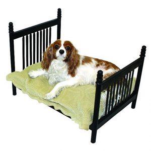 PET SUPPLIES - EDINBURGH PET BED - BLACK - DOG BED - CAT BED
