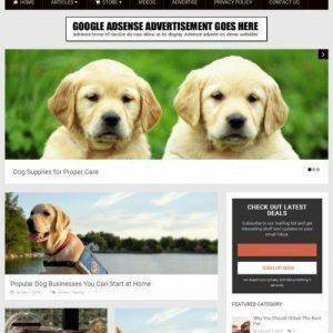 PET SUPPLIES SHOP  - Home Based Make Money Website Business For Sale + Amazon