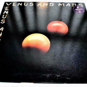 Paul McCartney Wings Venus And Mars Capitol SMAS 11419 2 Posters 3 Stickers EX