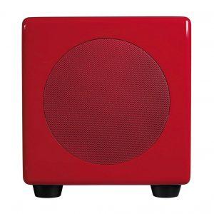 Podspeakers Micropod Aktiv-Subwoofer, hochglanz rot (UVP: 299,- €)