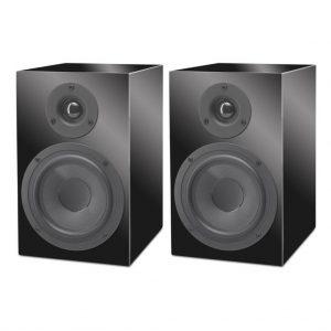 Pro-Ject Speaker Box 5 Hi-Fi Speakers - Pair - Black