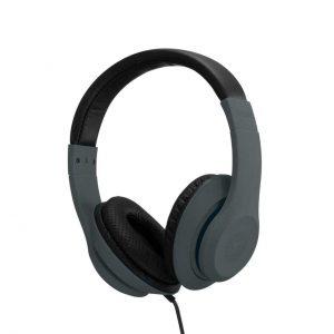 Roam Colours Plus On-Ear Wired Headphones & Mic - Black