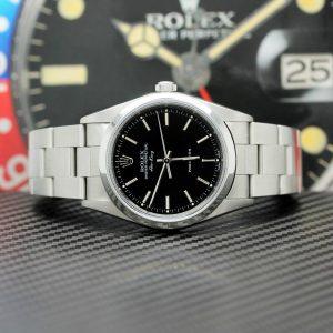 Rolex Air King Stahl Automatik Ref:14000 mit Rolex Box von 1999