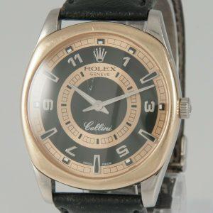 Rolex Cellini Danaos White & Rose Gold 38mm Ref: 4243