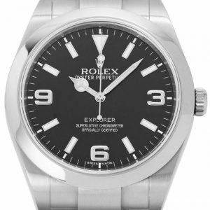 Rolex Explorer 214270 Stahl Automatik Uhr, 2011