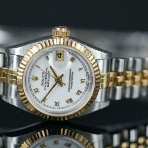Rolex Lady Datejust Stahl/Gold 26mm BJ 97 Ref.69173 Gewährleistung *Vom Händler*