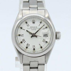 Rolex Oyster Lady Date Ref 6916 Steel Jubilee Bracelet