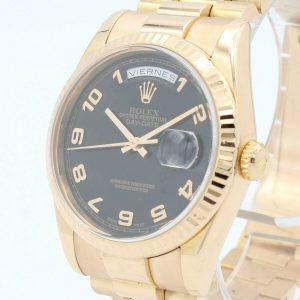 Rolex Oyster Perpetual Daydate Automatic Gold 18K Ref.118235
