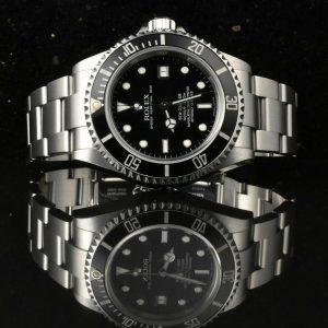 Rolex Sea-Dweller 16600 fast neuwertig F-Series 2005 Box & Papiere