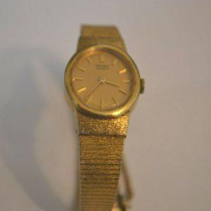 Seiko ladies Quartz Watch ,safety chain  g.c.