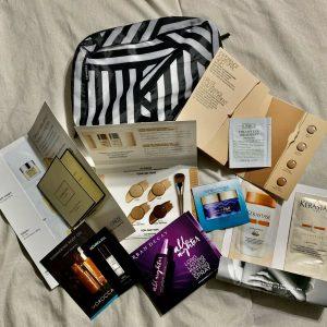 Sephora 10 pc Sample Trial Bundle Bag Beauty Makeup Hair Products