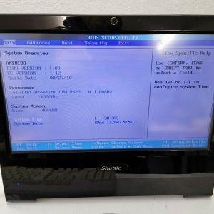 """Shuttle All-in-One X50V2 Plus Atom D525 2x1,8Ghz 4GB RAM/Wi-Fi/15,6""""/ 500GB HDD"""
