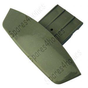 Silver Grey Graphite Washing Machine Door Handle for Hotpoint WD420G, WD440G