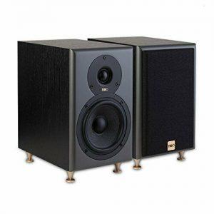 TIBO Legacy 3+ | Passive Hi-Fi Bookshelf Speakers | 150W | Black, 23017