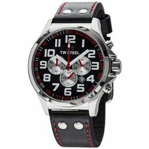 TW Steel Men's Pilot Chronograph Watch - TW414 NEW