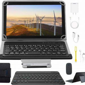 Tablets 10.1 Pulgadas Full HD, Android 9.0 WiFi/4G/OTG, 4GB RAM + 64GB  (negro)