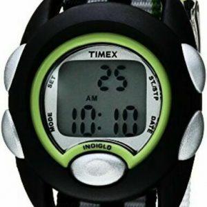 Timex TW7C13000, Kid's Time Machines Watch, Nylon Strap, Indiglo, Alarm, Date