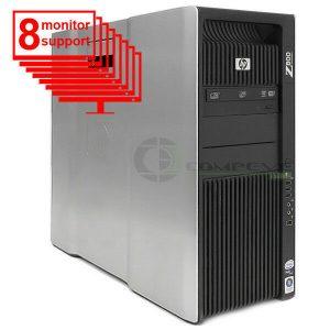 Trading 8 Monitors Z800 Workstation 2x Intel X5560 2.8GHz CPU 24GB RAM 600GB SSD