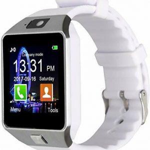 U1 DZ09 Bluetooth Smart Watch Phone Camera SIM SLOT For Android IOS Phones WHITE