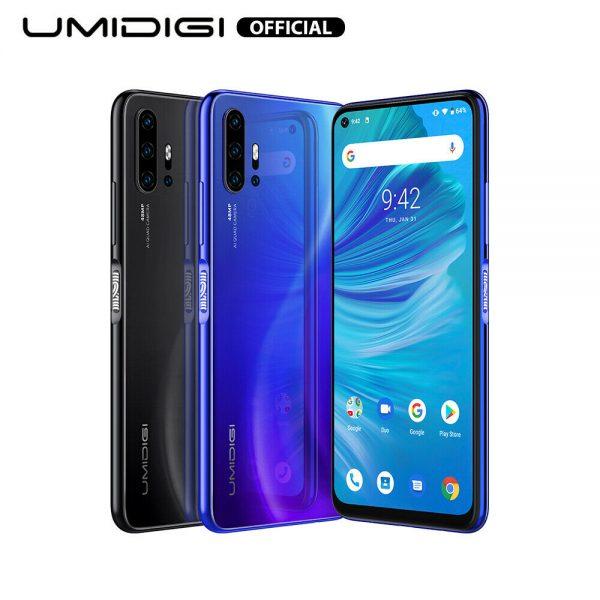 "UMIDIGI F2 Android 10 Smartphone 6.53"" 6GB 128GB 5150mAh NFC Dual SIM Teléfono"