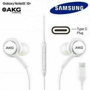 Universal SAMSUNG GALAXY NOTE 10/10+ AKG EARPHONES HEADPHONES USB TYPE C WHITE