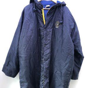 Vintage 90s Nike Long Sports Basketball Street Wear Winter Coat Jacket Sz M