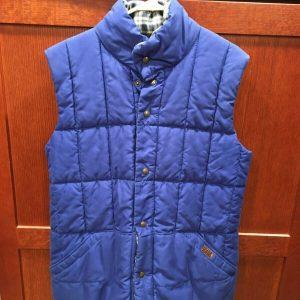 Vintage Original PUFFA Outdoor Wear Reversible Vest/Bodywarmer - M/L.