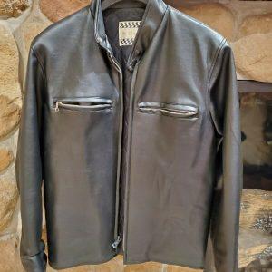 Vintage Wheelsport Fine Sports Wear Vinyl Jacket, Size Small (excellent shape)