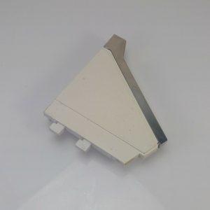 Vtg WHIRLPOOL Washing Machine CONSOLE End Cap (LEFT) 375305 375309