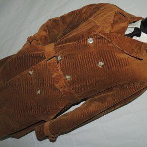 Windbreaker sports wear men's heavy corduroy jacket coat Large