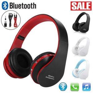 Wireless Bluetooth Foldable Headset Stereo Headphone Earphone MIC For Sony PS4