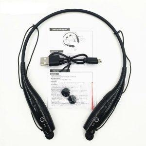 Wireless Bluetooth Headset Sports Headphone With Mic Hands Free Bass Ear Phones
