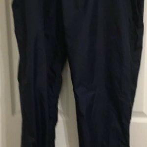 Woolrich Outdoor Wear Black Drawstring Waist Nylon Pants Mens 2XL