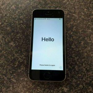 (pa2) iPhone SE Mobile Phone - Black/Grey - Vodafone - 64GB